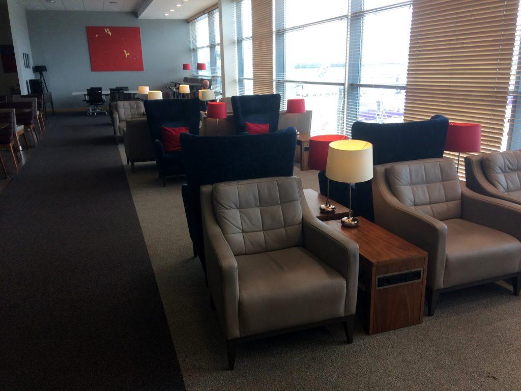 British Airways Lounge, Belfast City Airport