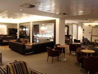 British Airways Lounge, Milan Linate
