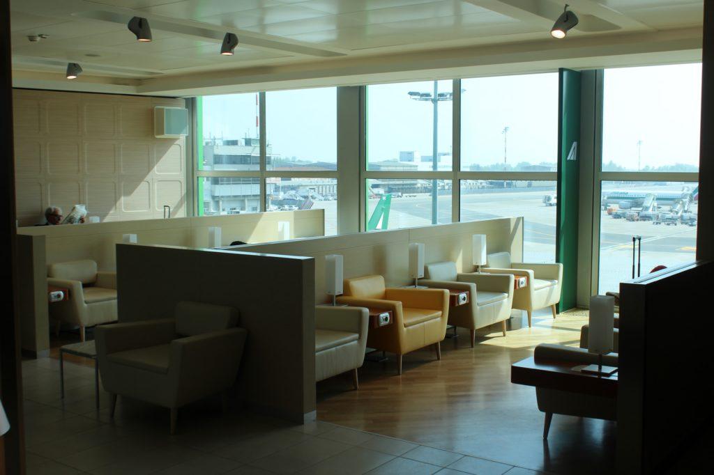 Casa Alitalia Lounge, Milan Linate