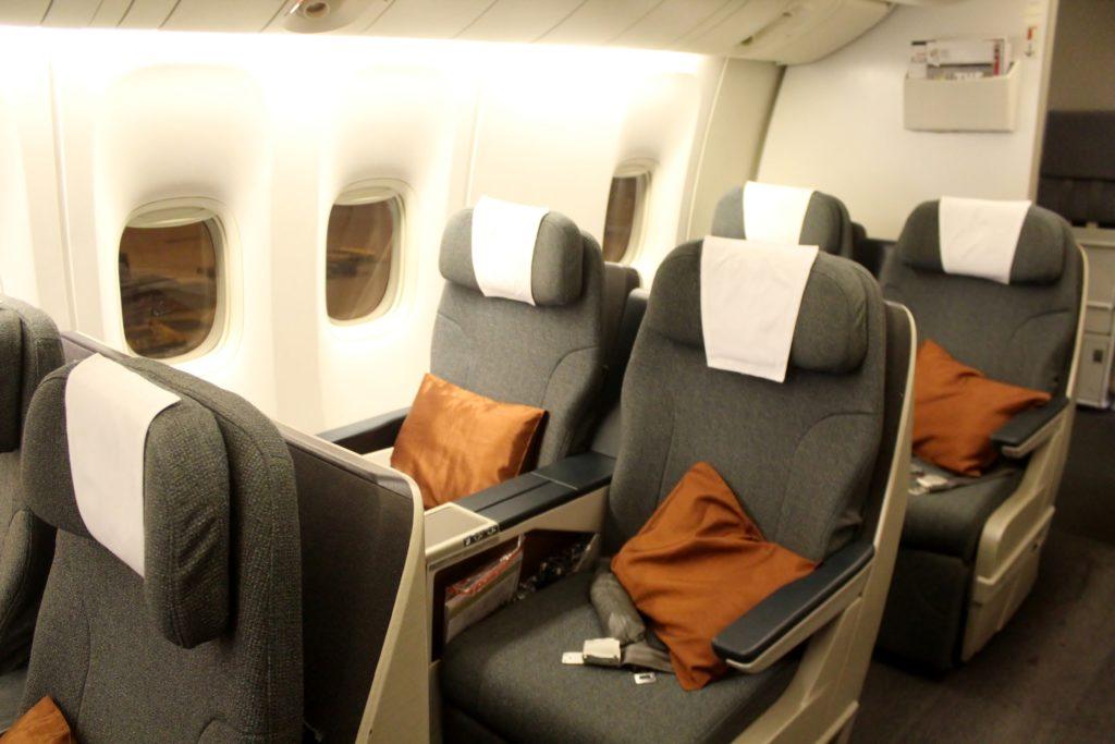 Cathay Pacific Business Class Hong Kong-Shanghai