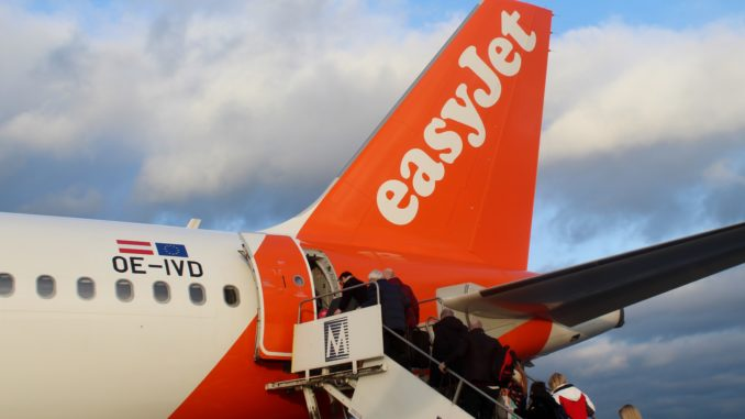 Easyjet Edinburgh-Belfast