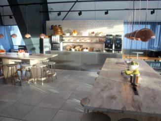 SAS Cafe Lounge, Bergen Flesland