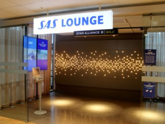 SAS Domestic Lounge, Oslo Gardermoen