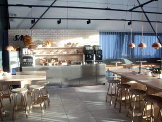 SAS new cafe lounge at Bergen Flesland airport