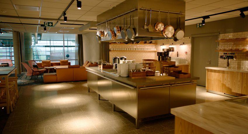 SAS new domestic lounge at Oslo Gardermoen