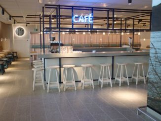 SAS new domestic lounge at Oslo Gardermoen