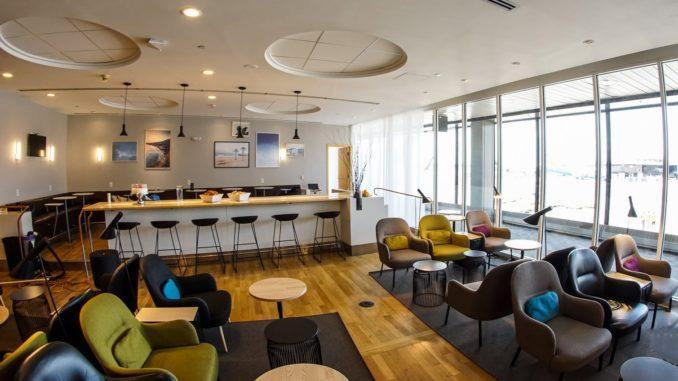 SAS new lounge at New York Newark