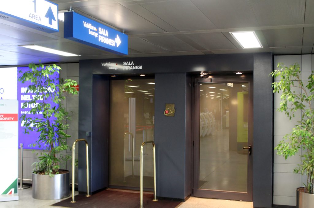 Sala Piranesi Lounge, Milan Linate