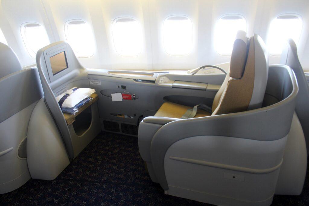 TAAG First Class Luanda-Johannesburg