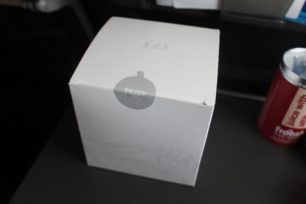 The new SAS cube breakfast
