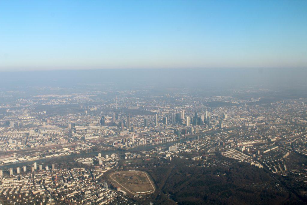 Austrian Airlines Business Class Frankfurt-Vienna
