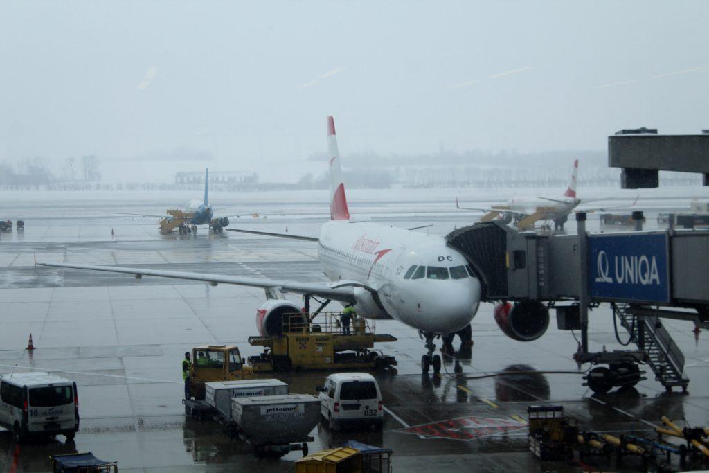Austrian Airlines Business Class Vienna-Thessaloniki