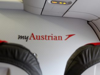 Austrian Airlines Business Class Vienna-Thessaloniki