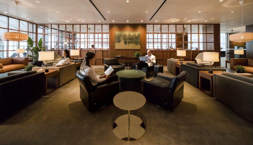 Cathay Pacific The Deck Lounge Hong Kong