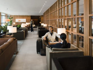 Cathay Pacific The Pier Business Class Lounge in Hong Kong