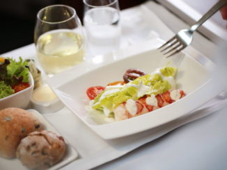 Cathay Pacific partnership with Tosca restaurant in business class and first class