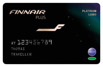 Finnair Plus Platinum Lumo