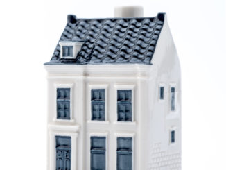 KLM Delftware House no 98