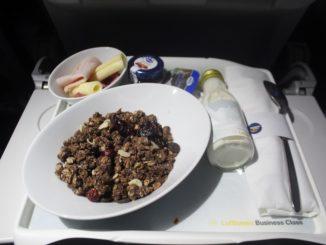 Lufthansa Business Class Oslo-Frankfurt