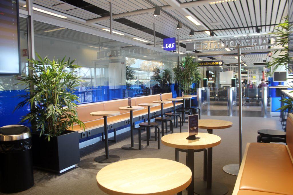 SAS Cafe Lounge, Malmö Sturup