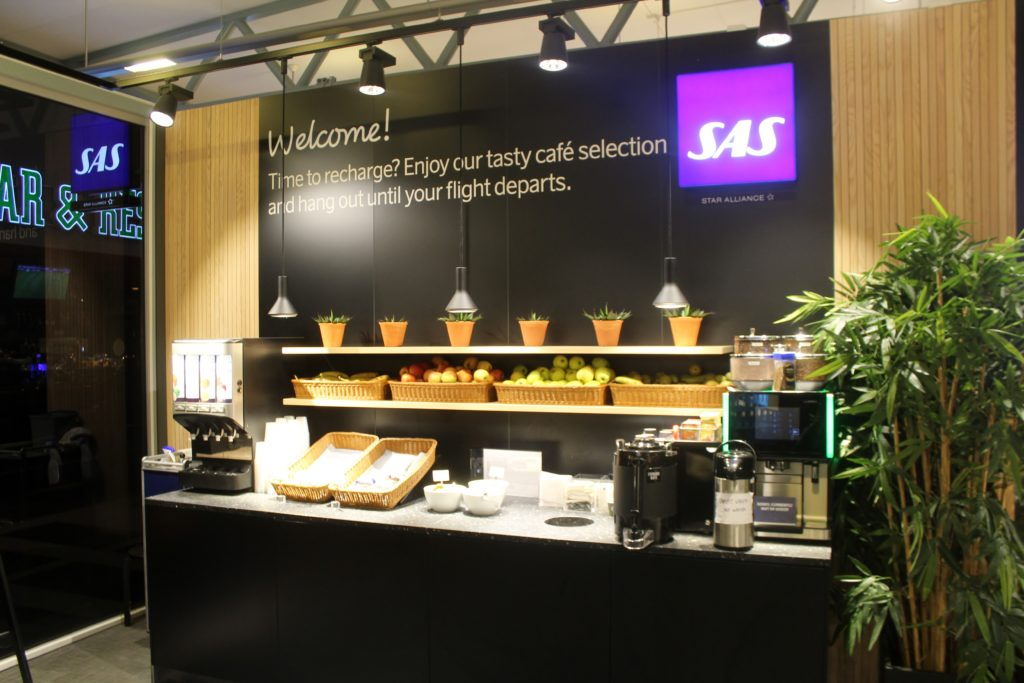 SAS Cafe Lounge, Tromso Langnes