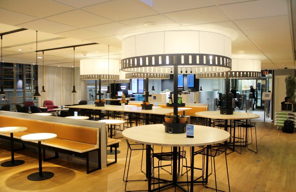 SAS Lounge, Oslo Gardermoen