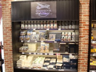 Starbrook Airlines chocolates in the taxfree shop at Brussels airport