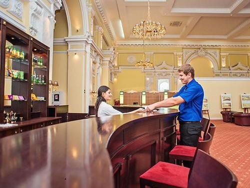 The Business Lounge at Moscow Kurskaya Railway Station
