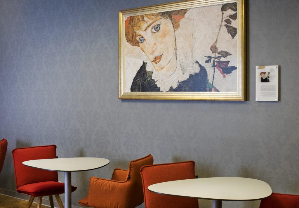The new Austrian Airlines Senator lounge design in Vienna