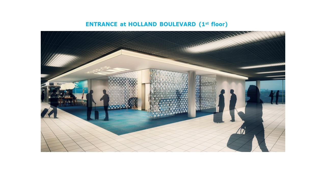 The new KLM non-Schengen Crown Lounge at Amsterdam Schiphol