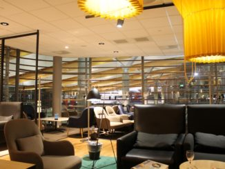 The new SAS Gold Lounge at Oslo Gardermoen