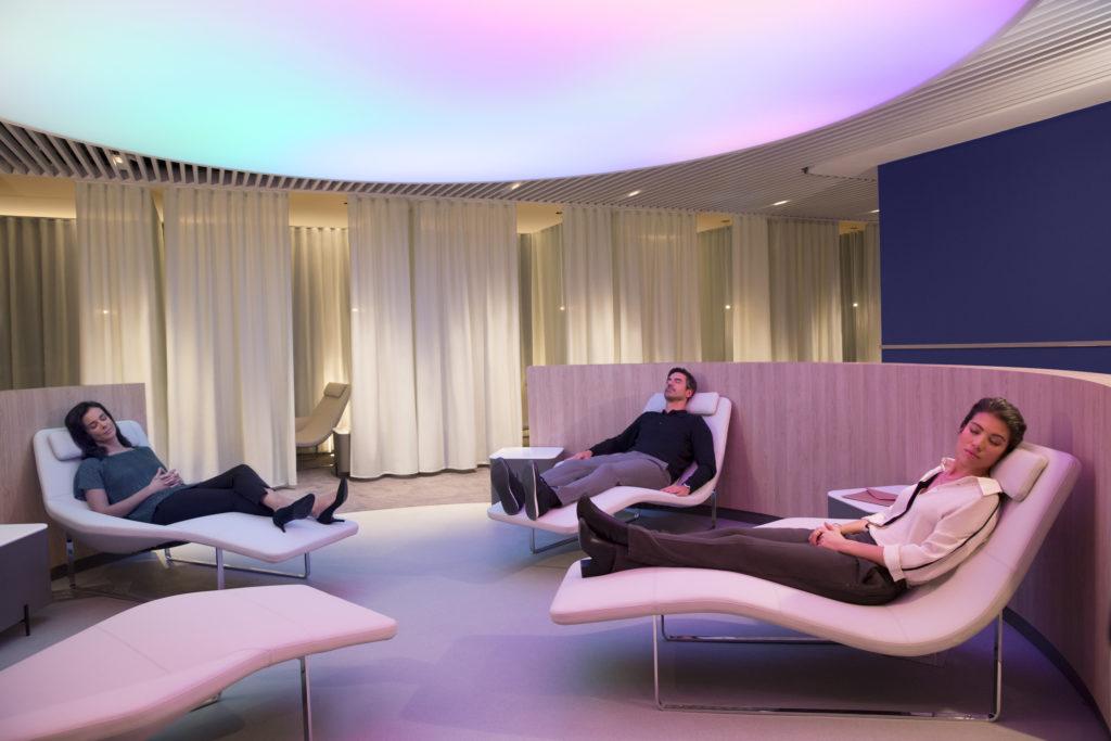 Air France new lounge at Paris CDG Terminal 2E concourse L