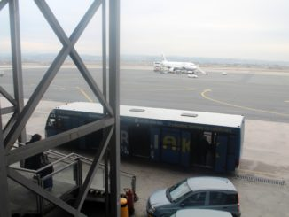 Boarding from the Aegean Airlines Lounge in Thessaloniki