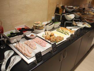 Breakfast in the new Primeclass Lounge in Riga