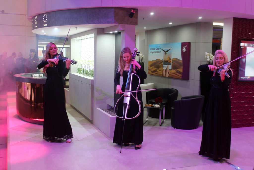Inauguration of the new Qatar Airways at ITB Berlin