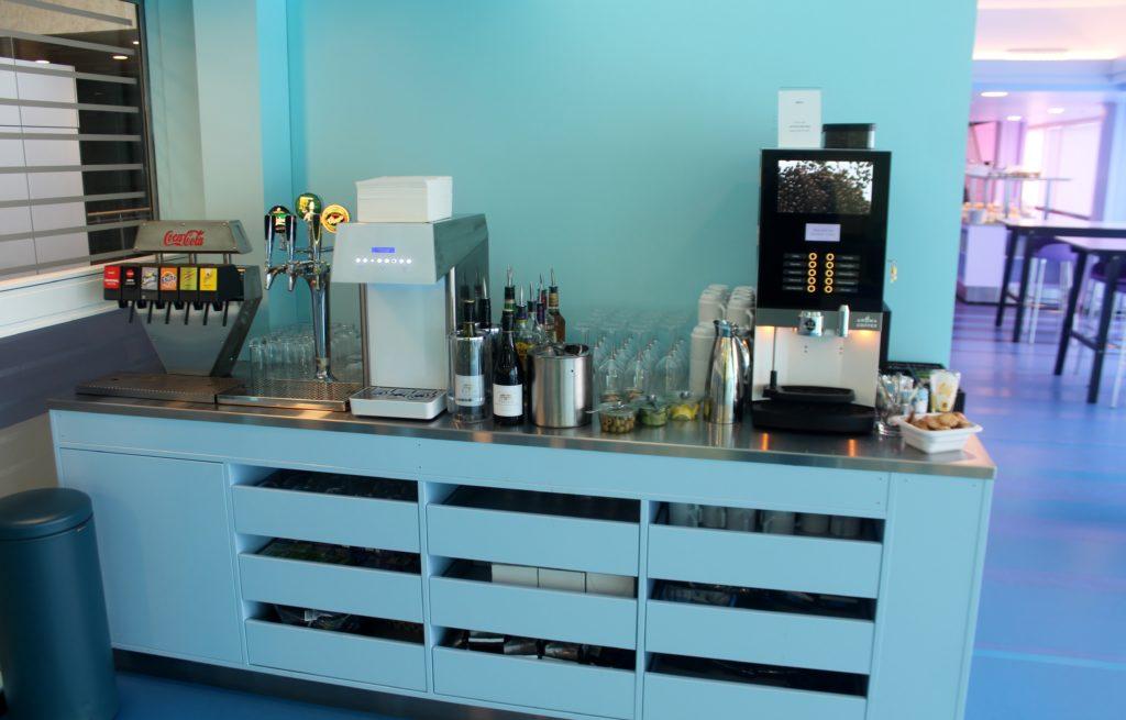 Inside the new Atelier Relaxium Lounge at Copenhagen airport
