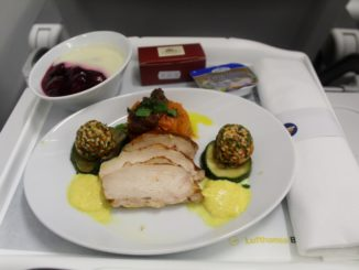 Lufthansa Business Class Munich-Stockholm