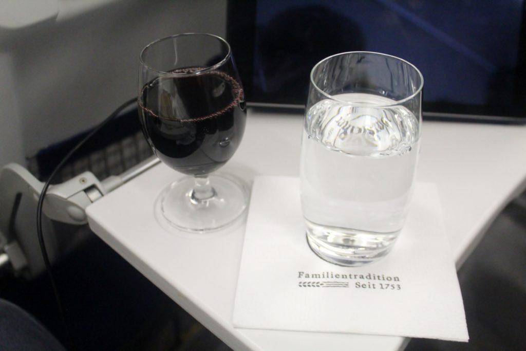 Lufthansa Business Class Munich-Stockholm