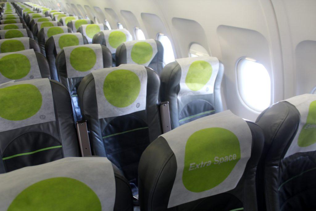 S7 Airlines Economy Class St Petersburg-Innsbruck