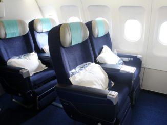 Aircalin Business Class Noumea-Sydney