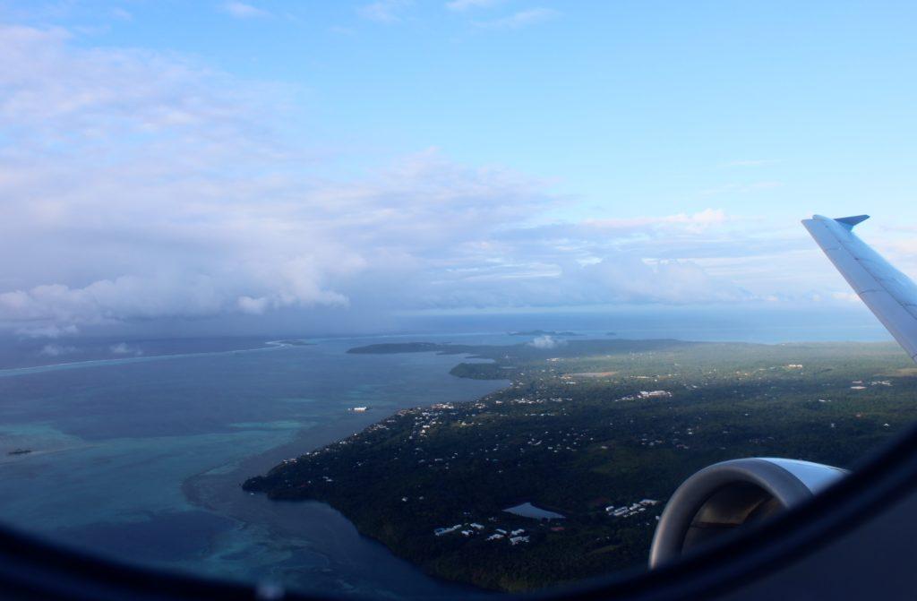 Air Calin Business Class Wallis Island-Noumea