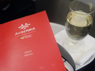 Air Serbia Business Class Frankfurt-Belgrade