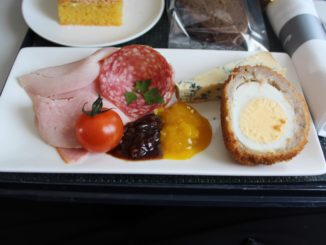 British Airways Business Class Club Europe Amsterdam-London Heathrow