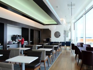 British Airways Lounge, Amsterdam Schiphol