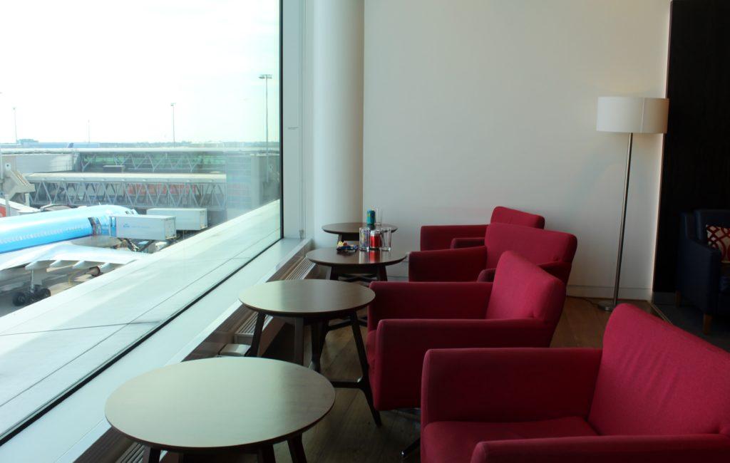 British Airways Lounge, Amsterdam Schiphol