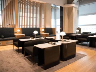 British Airways Lounge Rome