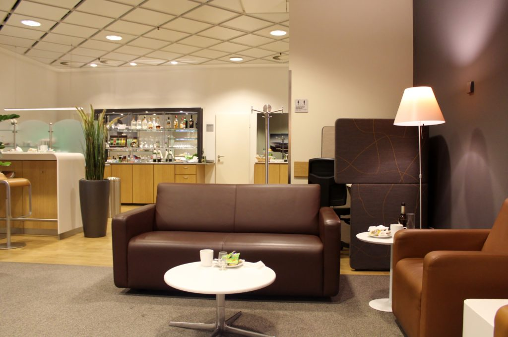 Lufthansa Senator Lounge, Leipzig