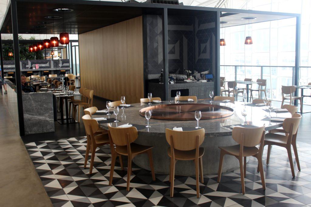 Qantas Lounge Hong Kong