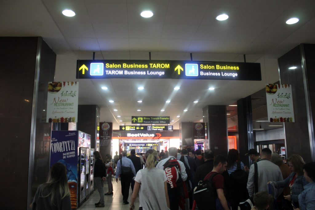 Tarom Economy Class Bucharest-Stockholm