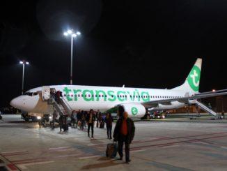 Transavia Economy Class Salzburg-Rotterdam